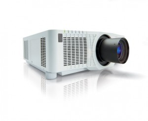Christie D-Serie 3 LCD Projektor LWU651i (weiß)